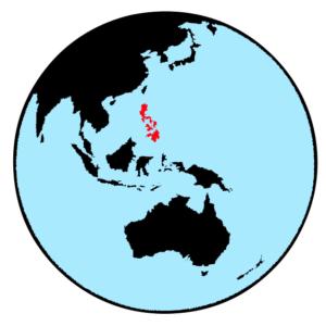 フィリピンの位置