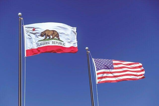 カリフォルニアの旗